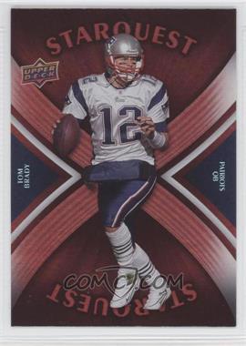 2008 Upper Deck Starquest Rainbow Red #SQ29 - Tom Brady