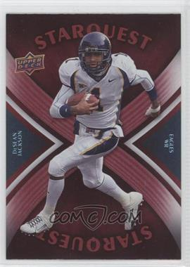 2008 Upper Deck Starquest Rainbow Red #SQ9 - DeSean Jackson