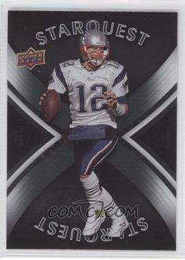 2008 Upper Deck Starquest Silver Board #SQ29 - Tom Brady