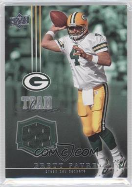 2008 Upper Deck Team Colors Memorabilia #TC-BF - Brett Favre