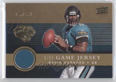 2008 Upper Deck UD Game Jersey Gold #UDGJ-DG - David Garrard /200