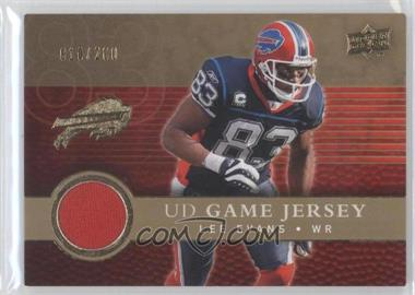 2008 Upper Deck UD Game Jersey Gold #UDGJ-LE - Lee Evans /200