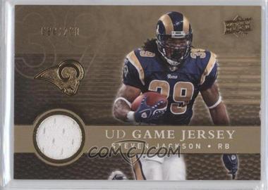 2008 Upper Deck UD Game Jersey Gold #UDGJ-SJ - Steven Jackson /200
