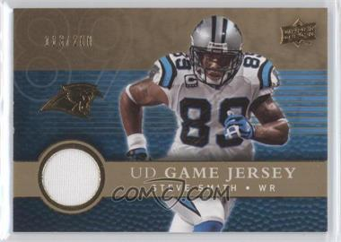 2008 Upper Deck UD Game Jersey Gold #UDGJ-SS - Steve Smith /200