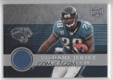 2008 Upper Deck UD Game Jersey #UDGJ-FT - Fred Taylor