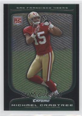 2009 Bowman Chrome #135 - Michael Crabtree