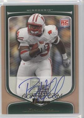 2009 Bowman Draft Picks - [Base] - Rookie Autographs Bronze [Autographed] #194 - P.J. Hill /99