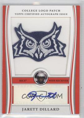 2009 Bowman Draft Picks - College Logo Patch - Mascot Variation #ALP-JD - Jarett Dillard /300