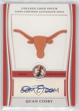 2009 Bowman Draft Picks - College Logo Patch - Mascot Variation #ALP-QC - Quan Cosby /300
