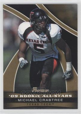 2009 Bowman Draft Picks 09' Rookie All-Stars Gold #AS5 - Michael Crabtree /10