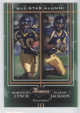 2009 Bowman Draft Picks All-Star Alumni Combos Bronze #AAC6 - Marshawn Lynch, DeSean Jackson /99