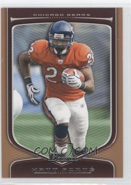 2009 Bowman Draft Picks Bronze #39 - Matt Forte /99
