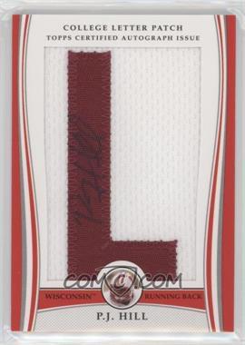 2009 Bowman Draft Picks College Letter Patch #LAP-PJH - P.J. Hill /173