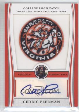2009 Bowman Draft Picks College Logo Patch Mascot Variation #ALP-CP - Cedric Peerman /250