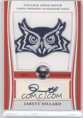 2009 Bowman Draft Picks College Logo Patch Mascot Variation #ALP-JD - Jarett Dillard /300