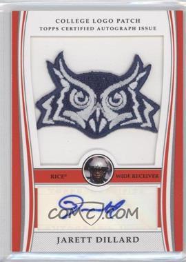 2009 Bowman Draft Picks College Logo Patch Mascot Variation #ALP-JD - Jarett Dillard /300
