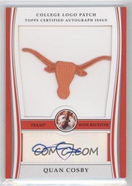 2009 Bowman Draft Picks College Logo Patch Mascot Variation #ALP-QC - Quan Cosby /300