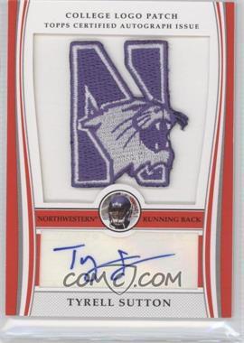 2009 Bowman Draft Picks College Logo Patch Mascot Variation #ALP-TS - Tyrell Sutton /250