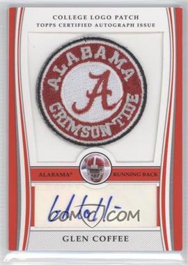 2009 Bowman Draft Picks College Logo Patch #ALP-GC - Glen Coffee /250