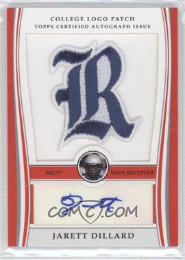 2009 Bowman Draft Picks College Logo Patch #ALP-JD - Jarett Dillard /300