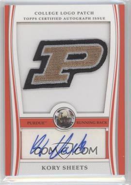 2009 Bowman Draft Picks College Logo Patch #ALP-KS - Kory Sheets