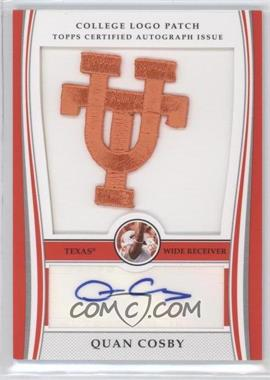 2009 Bowman Draft Picks College Logo Patch #ALP-QC - Quan Cosby /300