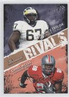 Chris Wells, Terrance Taylor /99