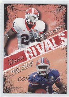 2009 Bowman Draft Picks Rivals #R5 - Knowshon Moreno, Percy Harvin