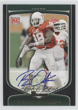 2009 Bowman Draft Picks Rookie Autographs [Autographed] #112 - Brian Orakpo