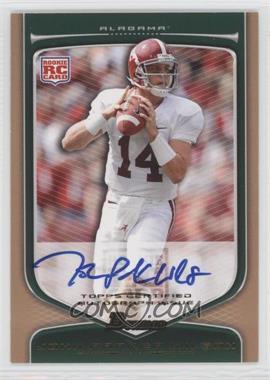 2009 Bowman Draft Picks Rookie Autographs Bronze [Autographed] #136 - John Parker Wilson /99