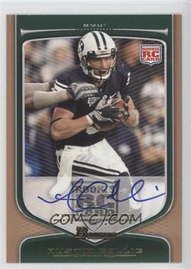 2009 Bowman Draft Picks Rookie Autographs Bronze [Autographed] #145 - Austin Collie /99