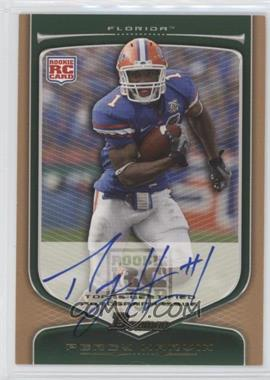 2009 Bowman Draft Picks Rookie Autographs Bronze [Autographed] #147 - Percy Harvin /99
