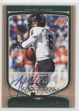 2009 Bowman Draft Picks Rookie Autographs Bronze [Autographed] #166 - Graham Harrell /99