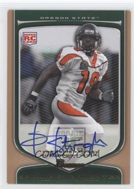 2009 Bowman Draft Picks Rookie Autographs Bronze [Autographed] #206 - Sammie Stroughter /99