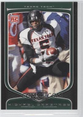 2009 Bowman Draft Picks #114 - Michael Crabtree
