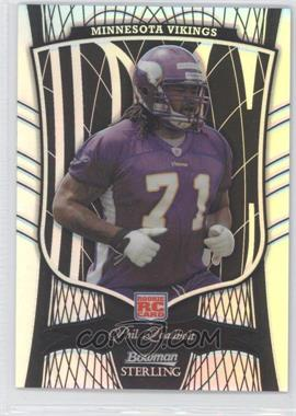 2009 Bowman Sterling Black Refractor #49 - Phil Loadholt /50