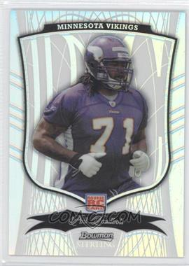 2009 Bowman Sterling Refractor #49 - Phil Loadholt /299