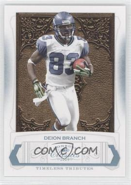 2009 Donruss Classics - [Base] - Timeless Tributes Platinum #85 - Deion Branch /25