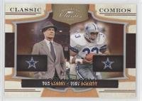 Tom Landry, Tony Dorsett /250