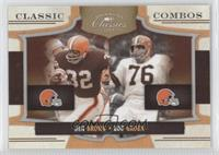 Lou Groza, Jim Brown /250