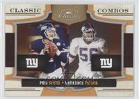 Phil Simms, Lawrence Taylor /250