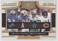 Barry Sanders, Earl Campbell, Emmitt Smith, Walter Payton /250