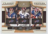 Andre Reed, Jim Kelly, Thurman Thomas /100