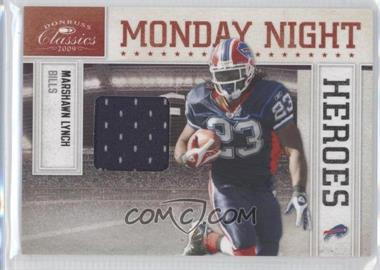 2009 Donruss Classics Monday Night Heroes Jerseys [Memorabilia] #21 - Marshawn Lynch /299