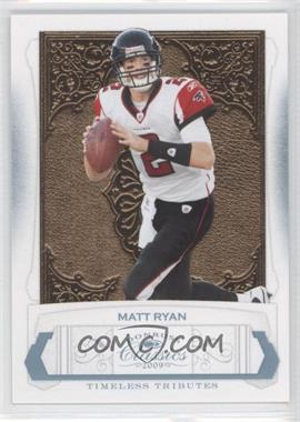 2009 Donruss Classics Timeless Tributes Platinum #5 - Matt Ryan /25