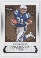 Donald Brown /999