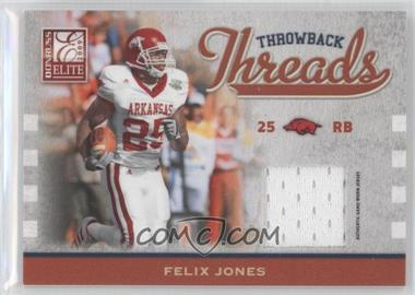 2009 Donruss Elite - Throwback Threads #47 - Felix Jones /299