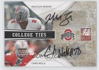 Chris Wells, Malcom Jenkins /50