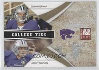 Jordy Nelson, Josh Freeman /399