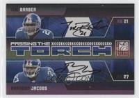 Brandon Jacobs, Tiki Barber /25